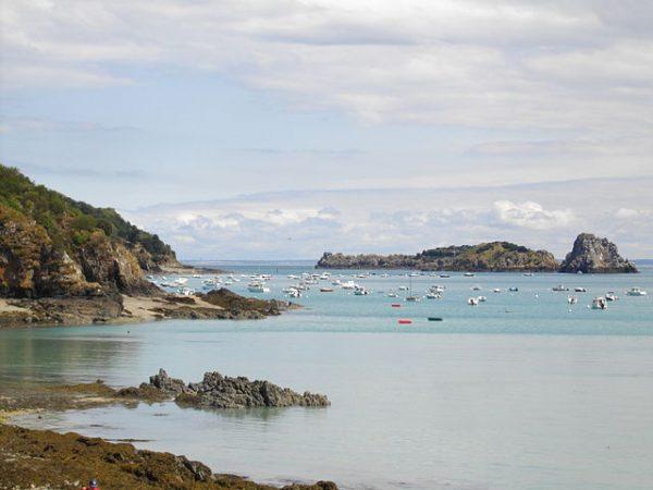 Ille-et-Vilaine on the Brittany coast