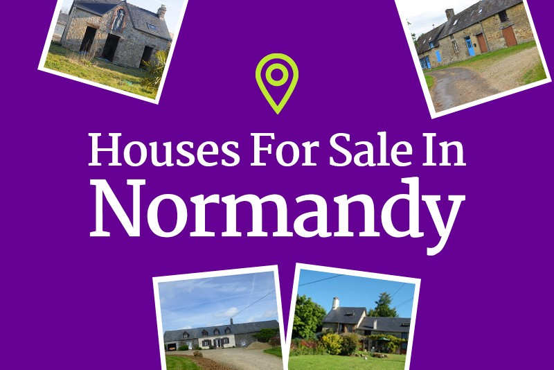 Houses for sale in Normandy