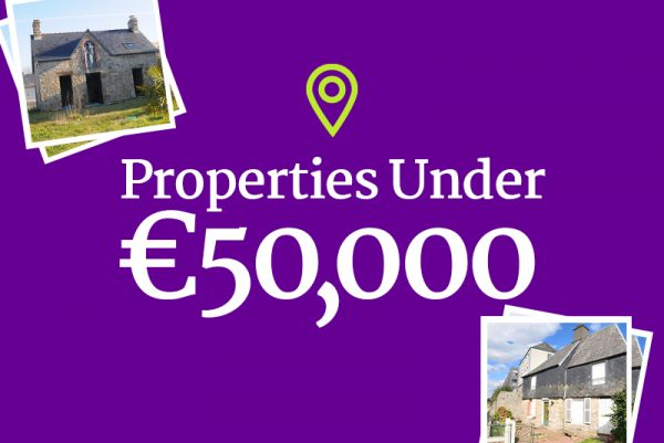 Properties For Sale In France Under 50,000